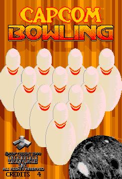 Capcom Bowling (ARC)  © Capcom 1988   1/3