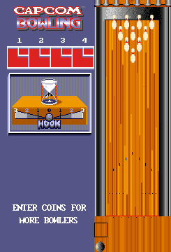 Capcom Bowling (ARC)  © Capcom 1988   2/3