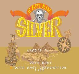 Captain Silver (ARC)  © Data East 1987   1/4