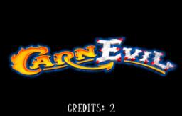 CarnEvil (ARC)  © Midway 1999   1/3