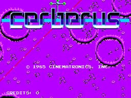 Cerberus (ARC)  © Cinematronics 1985   1/6