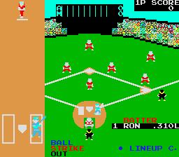 Champion Baseball (ARC)  © Sega 1983   2/3