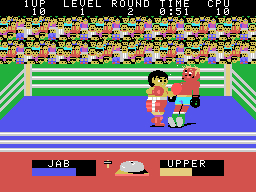 Champion Boxing (ARC)   © Sega 1983    2/3