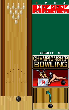 Championship Bowling (ARC)  © Romstar 1989   1/3
