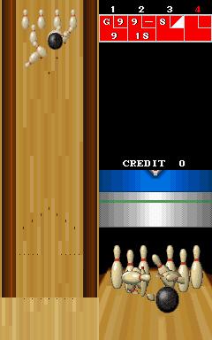 Championship Bowling (ARC)  © Romstar 1989   2/3