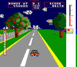 Change Lanes (ARC)  © Taito 1983   1/3