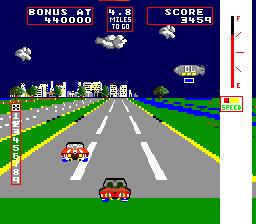 Change Lanes (ARC)  © Taito 1983   2/3
