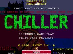 Chiller (ARC)  © Exidy 1986   1/4