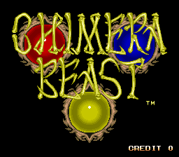 Chimera Beast (ARC)  © Jaleco 1993   1/4