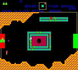 Cloak & Dagger (ARC)  © Atari (1972) 1983   2/3
