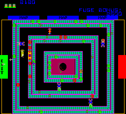 Cloak & Dagger (ARC)  © Atari (1972) 1983   3/3