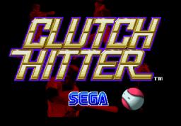 Clutch Hitter (ARC)  © Sega 1991   1/4