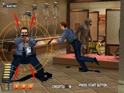 Confidential Mission (ARC)  © Sega 2000   1/4