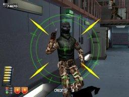 Confidential Mission (ARC)  © Sega 2000   3/4