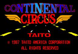 Continental Circuit (ARC)  © Taito 1987   1/4
