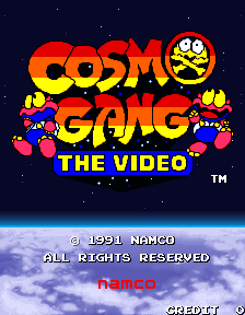 Cosmo Gang The Video (ARC)  © Namco 1991   1/4