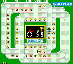 Counter Run (ARC)  © Sega 1988   3/3