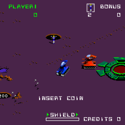 Crater Raider (ARC)   © Bally Midway 1984    2/3
