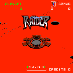 Crater Raider (ARC)   © Bally Midway 1984    1/3