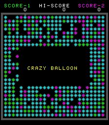 Crazy Balloon (ARC)  © Taito 1980   1/4