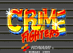 Crime Fighters (ARC)  © Konami 1989   1/4