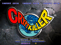 Crypt Killer (ARC)  © Konami 1995   1/3