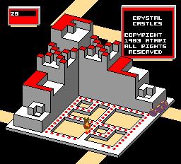 Crystal Castles (ARC)  © Atari (1972) 1983   1/3