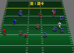 Cyberball 2072 (ARC)  © Atari Games 1989   3/3