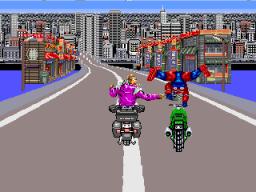 Cycle Warriors (ARC)  © Tatsumi 1988   2/3