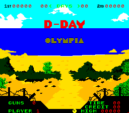D-Day (ARC)  © Olympia 1981   1/3