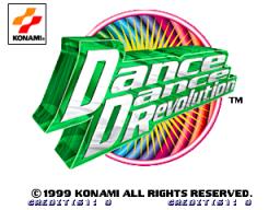 Dance Dance Revolution (ARC)  © Konami 1999   1/3