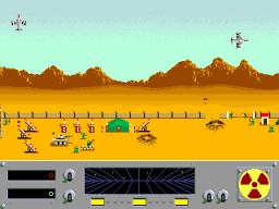 Danger Zone (ARC)  © Cinematronics 1986   2/4