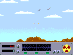 Danger Zone (ARC)  © Cinematronics 1986   3/4