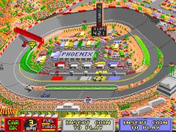 Indy Heat (ARC)  © Leland 1991   3/3