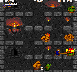 Dark Tower (1992) (ARC)  © Game Room 1992   2/3