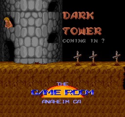 Dark Tower (1992) (ARC)  © Game Room 1992   1/3