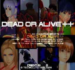 Dead Or Alive++ (ARC)  © Tecmo 1996   1/5