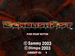 Demolish Fist (ARC)   © Sammy 2003    1/4