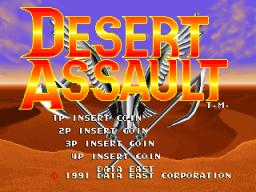 Desert Assault (ARC)  © Data East 1991   1/4