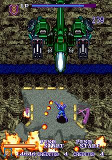 Desert Breaker (ARC)  © Sega 1992   4/6