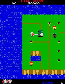 Dig Dug II (ARC)  © Namco 1985   2/4