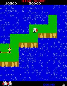 Dig Dug II (ARC)  © Namco 1985   3/4