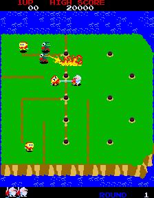 Dig Dug II (ARC)  © Namco 1985   4/4