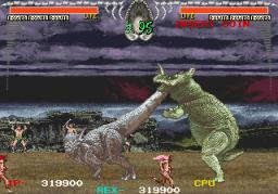 Dino Rex (ARC)  © Taito 1992   2/4