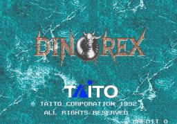 Dino Rex (ARC)  © Taito 1992   1/4