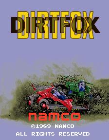 Dirt Fox (ARC)  © Namco 1989   1/4
