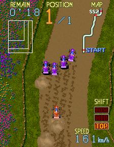 Dirt Fox (ARC)  © Namco 1989   4/4