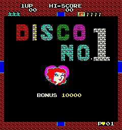 Disco No. 1 (ARC)  © Data East 1982   1/4