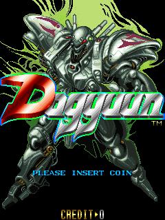 Dogyuun (ARC)  © Toaplan 1992   1/4