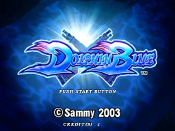 Dolphin Blue (ARC)   © Sammy 2003    1/4